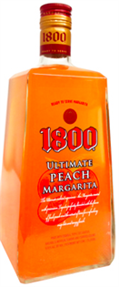 1800 Tequila Ultimate Margarita Peach 1.75l